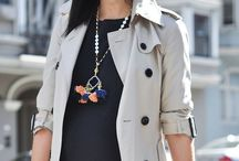 how to//trench coat / STREET STYLE / by jessie.