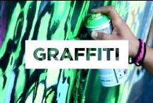 Graffiti and Street Art / Check out the graffiti that covers our walls here at TerraCycle! It is always changing, providing new spaces to showcase artist's work, making it a destination for graffiti artists worldwide. We also incorporate many of the work that inspires us every day.