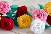 DIY chicPaperCrafts / paper flowers... CARDS...  decor... / by Pixel Musings