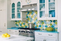 home KitchenBreakfastNook / kitchen ideas... decor... diy... colour palette... / by Pixel Musings
