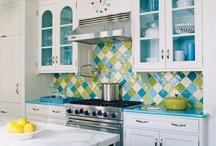 home KitchenBreakfastNook / kitchen ideas... decor... diy... colour palette... / by Pixel Musings