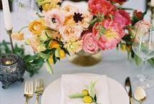La tavola dell'estate / Il bello della tavola e il bello dell'estate, insieme, davanti a noi. Che c'è di più piacevole?