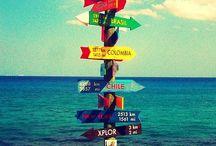 T R A V E L L I N G / Traveling through the world...