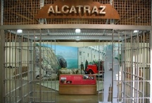 """""""Alcatraz: Life on the Rock"""" traveling exhibition / """"Alcatraz: Life on the Rock"""" is a traveling museum exhibition created through a partnership between the National Park Service and Alcatraz Cruises, LLC (a concessioner to the NPS).  The exhibition is approximately 3000 square feet.  The exhibition is comprised of four quadrants; The Military Era, The Federal Penitentiary, The Native American Occupation and Preserving the Rock.   Contact Mark Walhimer for more information"""