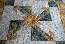 machine quilting / by Joan Weth