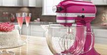 Kitchen Aid / Mutfakla arası iyi olan her kadının hayalini süsler Kitchen Aid mikser. Renk renk...