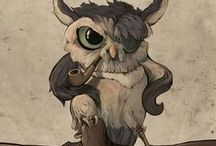 Ꭿཞɬ: Owls... / ART dedicated to all the owls that are living on this great  earth