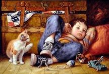 Amazing Art Paintings & Other Facebook pages / by Donna Grodis