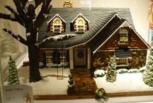 Christmas 4)Gingerbread and Candy houses / by Shelli Brocious