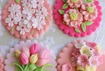 """ Cake Decorating"" Fondant , Gumpaste Flowers,Sugar  Flowers / by Shelli Brocious"