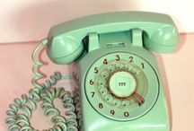 "OLDEN phone ☎ / ""First electricity and now telephones. I sometimes wonder if I'm living in an H.G. Wells novel!"" ~ The Dowager Countess of Grantham / by Cyndi Joy"