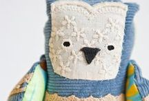 inspire-a-SOFTIE / so much scope to be creative!!! ...AND use up all those scraps!