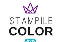 Stampile Color rotunde / Stampile color rotunde