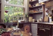 cooking & eating area / by Stephanie Bice