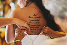 wedding ideas / by Katie belin