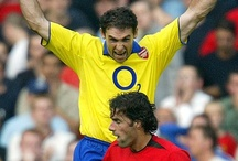 Footy. / Martin Keown. Legend. / by Mike Saunders
