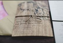 Eco Stationery + Invitations / A collection of Earth friendly paper goods for your wedding day announcements. / by Eco Brides Magazine