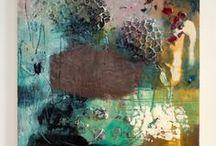 Encaustic Art / Beautiful Encaustic Beeswax Art / by Lee Anne La Forge