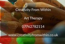 Creativity From Within. Art Therapy / Art Therapist based in Greenwich 07762782114 www.creativityfromwithin.co.uk www.arttherapylondon.co.uk