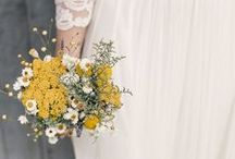 Eco Florals / Using sustainable, locally grown, seasonal, replantable or edible materials are all ways you can have eco friendly florals on your wedding day. / by Eco Brides Magazine