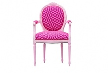 Pink Chairs for Pink Aid! / by Cottages & Gardens
