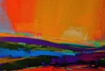 Art... orange/yellow / by Lee Anne La Forge
