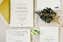Paper / Elegant calligraphy paired perfectly with dazzling envelopes that nobody can refuse.