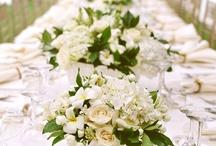 Florals / Fresh floral arrangements perfect to spice up a centerpiece.