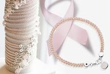 Breast Cancer Campaign Charity Bracelet / With 20% of every bracelet sold going directly to charity, our Exclusive Breast Cancer Campaign bracelet has been designed alongside BRCA gene spokesperson Emma Parlons. / by Astley Clarke