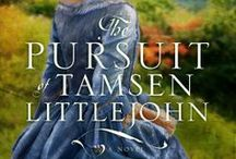 "Novel: The Pursuit of Tamsen Littlejohn / Western North Carolina, 1787. ""Frontier dangers cannot hold a candle to the risks one woman takes by falling in love."""