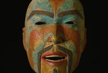 Masked / Happy Halloween! Masks from the PEM's Native American Art collection.