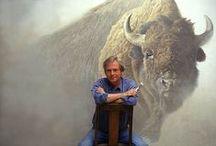 Robert Bateman, Wildlife Artist / My favorite artist since... I can remember.