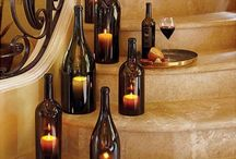 DIY Wine Crafts / Easy crafts you can make out of your wine leftovers.