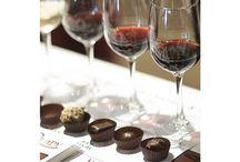 Wine and Chocolate / Who doesn't like wine?  Who doesn't like chocolate?