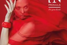 Red Manifest Collection / It will be a hot winter! Red is the new black ... The all time classic nail polish colour therefore gets a new spirit by ProNails this winter