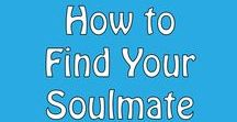 How to Find Your Soulmate / Are you looking to attract your soulmate? If you're in the process of finding your soulmate then this board is for you. #soulmate #dating #love #relationships