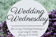 #WeddingWednesdays / Our pinterest board countdown to the #WTShow on January 9-10, 2016!