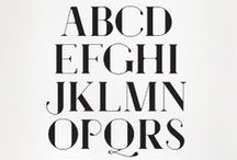 Typography / by Ines Major