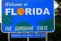 Florida...The Sunshine State / by Marlene Roney