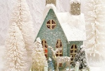 Putz Christmas Houses / by Margaret Holloway