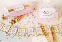 Pink & Gold Party / Planning for my mother's birthday!