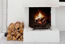 + Fireplaces + / Fireplaces in all kinds of different materials