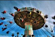 Amuse Me / Amusement Parks, Thrill Rides, Carnivals, Fairs, and Fun!!  / by Attila Nagy