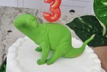 Dinosaur Dig Party / Dinosaur party, three-year old party, boy birthday