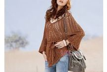 Crochet Wrap, Scarf, and Poncho Patterns / by Connie Baker