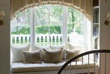 Window Seat Inspiration / by Christine Wallick