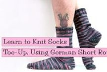 Knitting Socks / VeryPink Knits Patterns for hand knit socks. / by VeryPink Knits