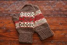 Knit Mittens and Gloves / Patterns and instructions for knitting mittens and gloves / by VeryPink Knits