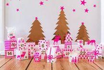 Advent / Advent calendars to celebrate the Christmas Season