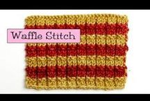Fancy Knitting Stitches / by VeryPink Knits